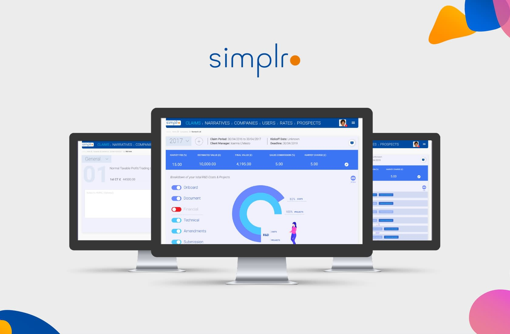 Simplro – User Interface Design
